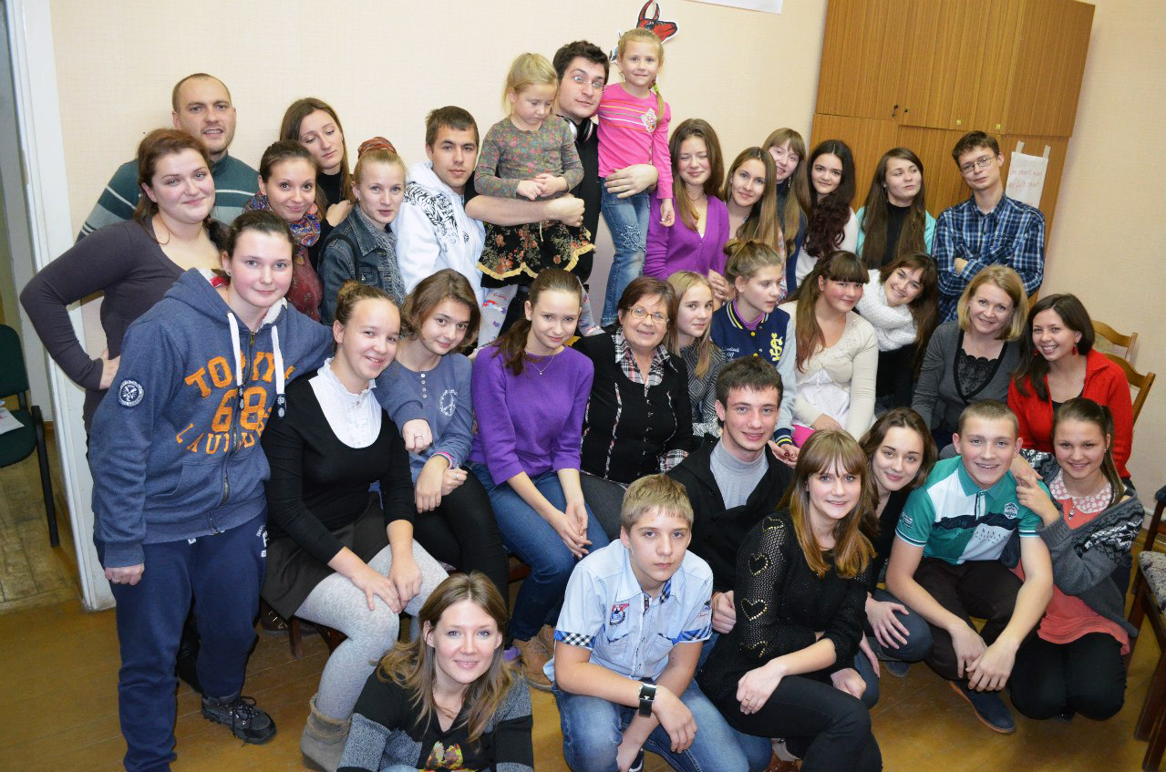 YMCA Vitebsk. Новоселье. 14.11.2013