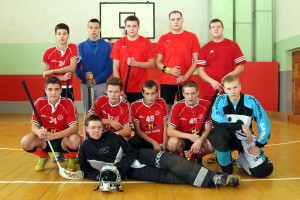 Floorball Competition in Molodechno