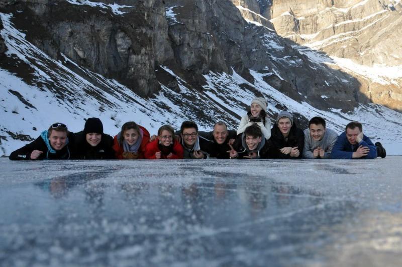 Юля-Швейцария-на льду