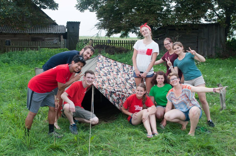 ставят палатку-3